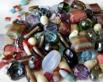 Czech Glass This n That Bead Mix : 50 Grams Bead Soup Mix