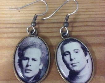 Simon and Garfunkel Earrings