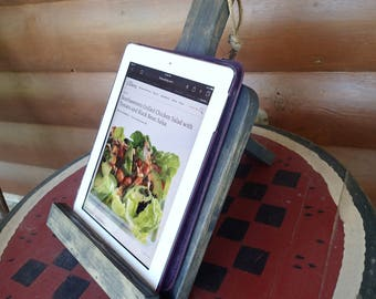 Wood Tablet/Cookbook Holder~Home/Table Decor~FREE SHIP US~Country~Kitchen~Recipe