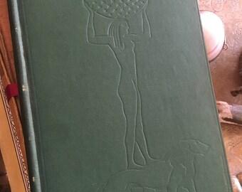 Last Poems & Plays by W.B. Yeats 1940 Green Hardback Art Deco