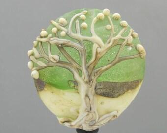Tree of Life Handmade Lampwork Bead Focal