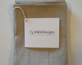 ONE DAY SALE Pure Linen Tea Towel, Kitchen Linens, Hand Towel, Dishcloth, Oatmeal