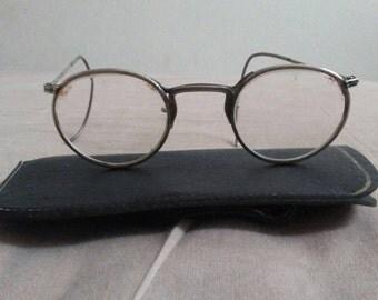 Vintage 1960s ZALES Low Bridge Eyeglasses