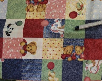 Allover Patchwork 100% cotton fabric by Daisy Kingdom