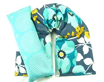 Microwaveable Neck Wrap Eye Pillow Set Hot Cold Therapy Heating Pad Microwave Heat Pack Cold Pack Gift Guide