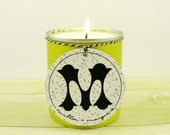 Soy Candle. Lemongrass Basil. Housewarming Gift. Gifts for Her. Unique Candle Scent.
