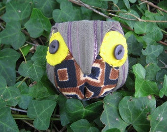 round owl little / antistress/anstress / soft toy / collectibles / children / adults / lucky charms /gift idea /Gift for Owl Lover / stuffed