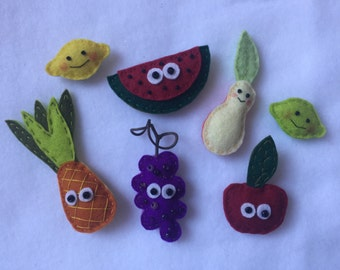 Little Fruits Magnets