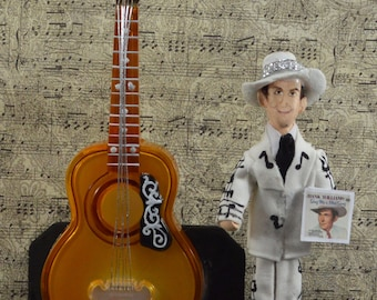 Hank Williams, Miniature Diorama, Country Music, One of a Kind Art