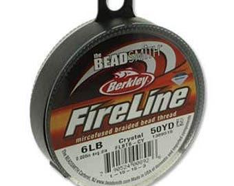 6lb Fireline Crystal Thread .006in/0.15mm 50yrd/45m