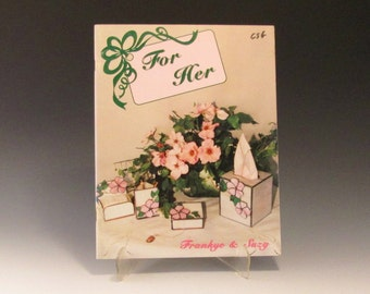 """Stained Glass Pattern Book - """"For Her"""" by Frankye Cartner and Suzy Pomeroy"""