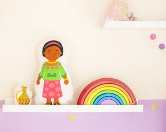 African Doll Sewing Kit and cute mini toy