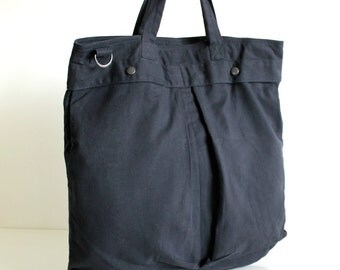 SAMPLE SALE - All purpose tote in charcoal