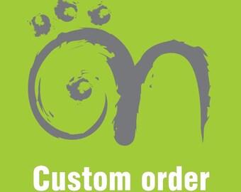 Custom Order - Handmade Lampwork Glass Beads (SRA)
