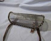 1/8 inch steel mesh Fallout style bracer