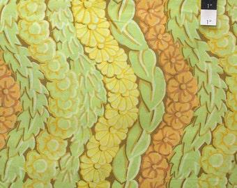 Kaffe Fassett PWGP145 Serpentine Yellow Cotton Fabric By The Yard