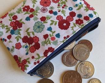 Pretty coin purse - ditsy floral