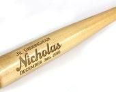 26 inch Personalized Baseball Bats, Ring Bearer Gift, Groomsman Gift, Best Man Gift, Engraved Bat
