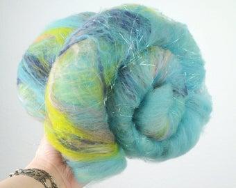 Octopus' Garden - Merino Wool Art Batt 2.9oz