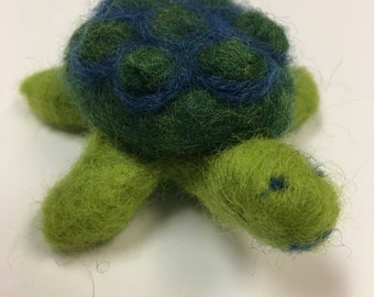Horace the wool felted turtle