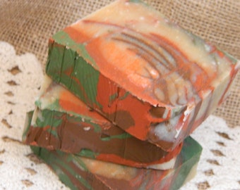 Apples and Oak Goats Milk Soap Cold Processed Soap Handmade Soap