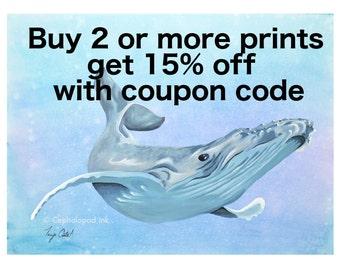 Buy 2 or more prints get 15% off
