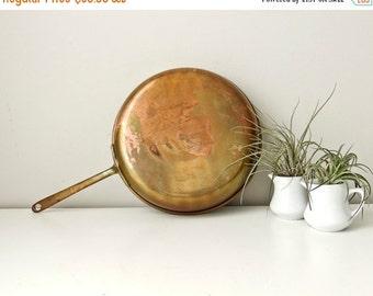 Sale Copper Fry Pan, Teflon Copper Saute Pan