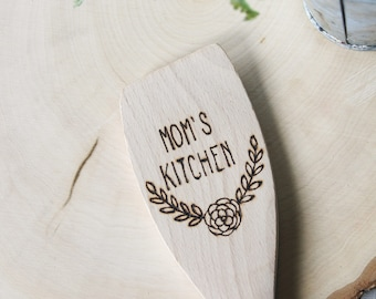 Wood Burned Wooden Spoon - kitchen accessory - Kitchen Spoon - Mom's Kitchen - New home gift - Hostess Gift - Wood Spoons