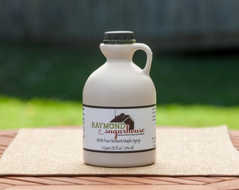 QUART 100 Percent Pure Vermont Maple Syrup 1 Quart with FREE SHIPPING