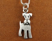 Tiny schnauzer necklace / pendant