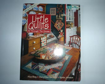 Paperback book called   Little Quilts     Item B112