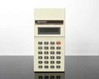 Calculator / Sharp Elsi Mate EL-220 / Vintage