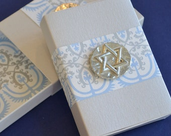 Star of David Jewish Message Box for Hanukkah or Jewish Holiday