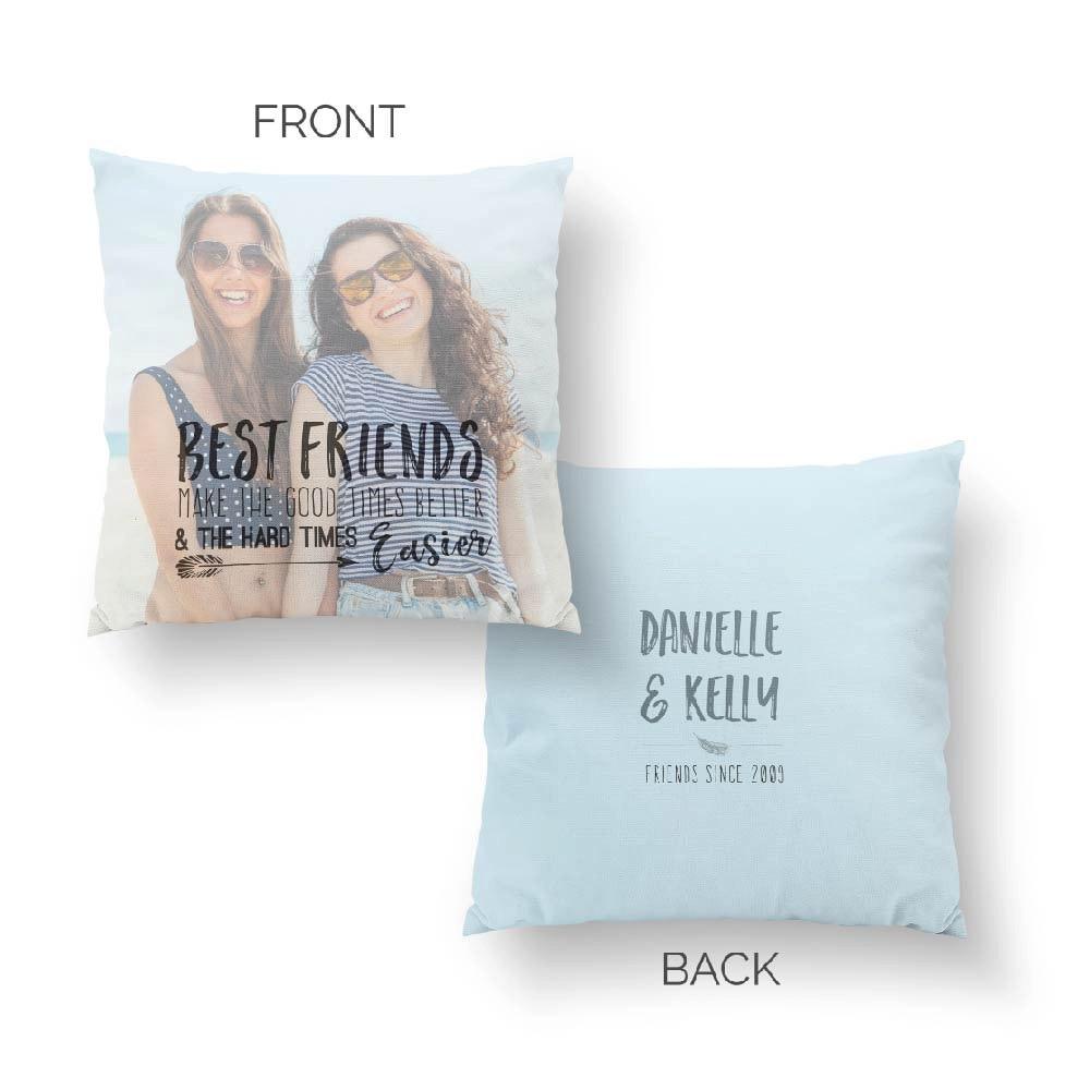 Wedding Gift For Distant Friend : Best Friend Long Distance gift Unique Pillow Gift Unique