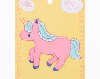 213387 pink unicorn iron-on transfer sheet 1 piece