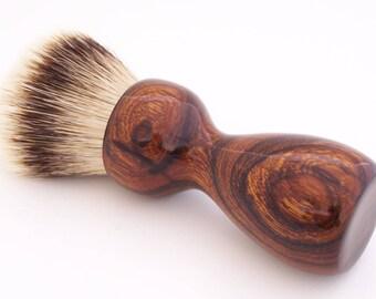 Desert Ironwood 26mm Super Silvertip Badger Hair Shaving Brush Handle (Handmade) D1 - 5th Anniversary Gift - Shaving Kit