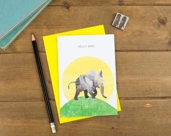 Hello Baby - New Baby Card