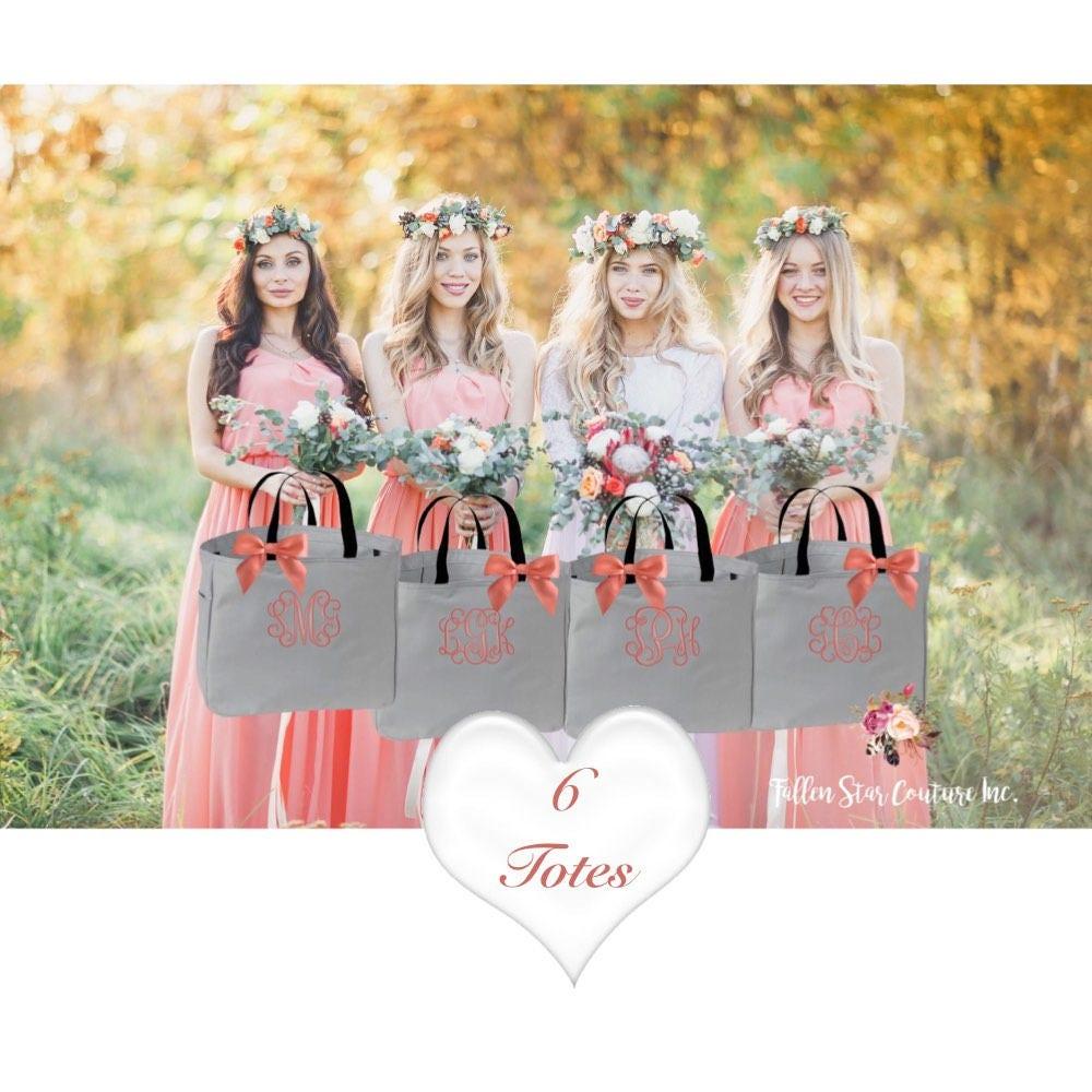 Bridesmaid tote bag | Etsy