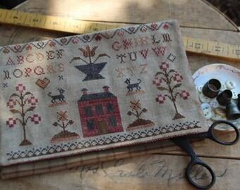 Schoolgirl Sampler Sewing bag *PATTERN*