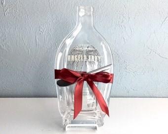 Angels Envy Kentucky Straight Bourbon Whiskey Flattened Bottle Cheese Board