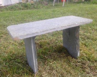 Virginia Greenstone Garden Bench