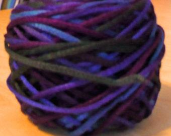 Jewels Dyepainted Rayon Ribbon Yarn