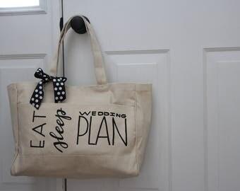 Wedding Planning Tote Bag