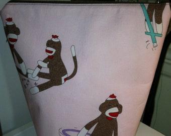 Pink Sock Monkey RosyPosy