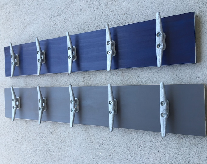 2 towel racks anchor boat cleat hooks mancave coat hook cabin renovation nautical beach home decor foyer mudroom bathroom pool hottub