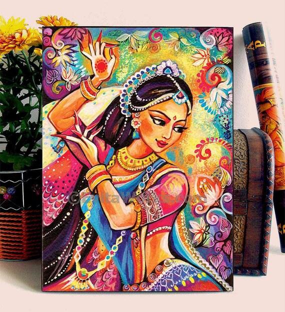 Bharatanatyam wall decor