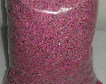 1 Pound Pink Rainbow Limited time, Unity Sand Ceremony Sand Art Weddings, Pink and blue rainbow sand