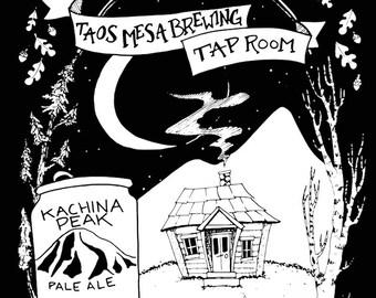 Zephaniah Stringfield / Taos Mesa Brewing Poster