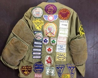 1950s marksmen shooting jacket //sporting jacket// hunting jacket
