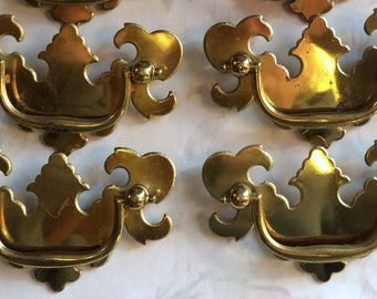 Restoration Hardware|Chippendale Pulls | Replacement Hardware | French Hardware | Upcycled Pulls |Vintage Antique Hardware